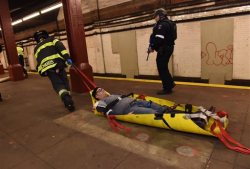 NYC-Terror Drill